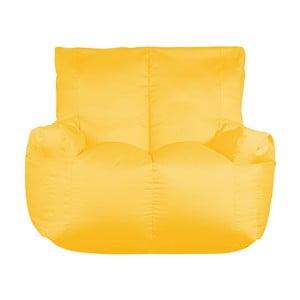 Żółty worek do siedzenia dwuosobowy Sit and Chill Coron