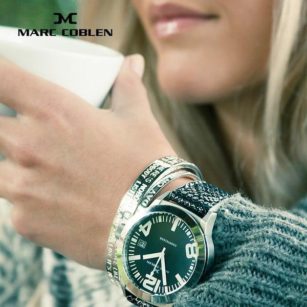 Zegarek unisex Marc Coblen z dodatkowym paskiem i obręczą P5