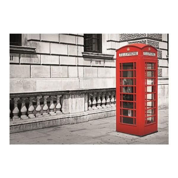 Tapeta wielkoformatowa Londyńska budka, 360x253 cm