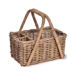 Rattanowy kosz piknikowy Garden Trading Bembridge Picnic Basket