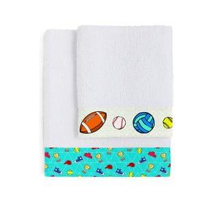 Zestaw 2 ręczników Winner, 50x100 cm i 70x140 cm