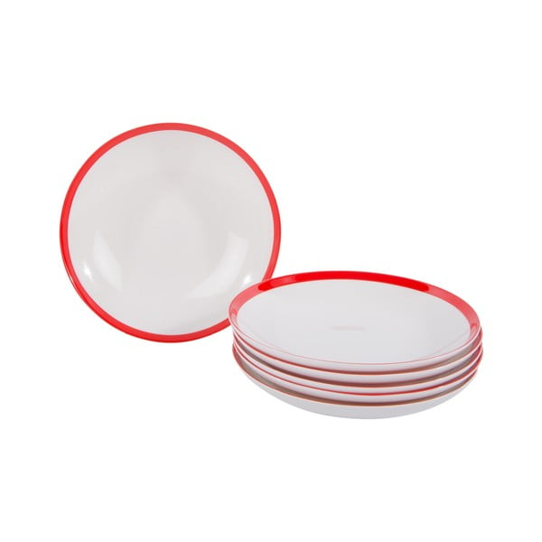 Komplet 18 porcelanowych talerzy China
