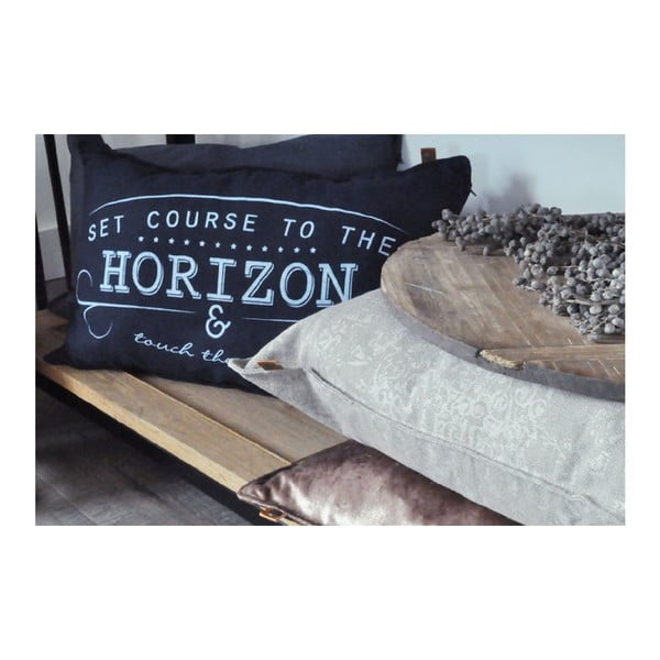 Kremowa poduszka Overseas Horizon, 40x60 cm