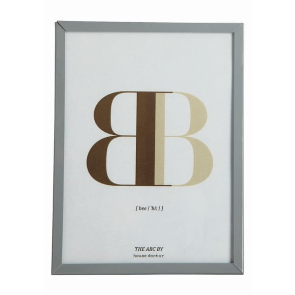 Ramka z obrazkiem Letra B, 16x12 cm