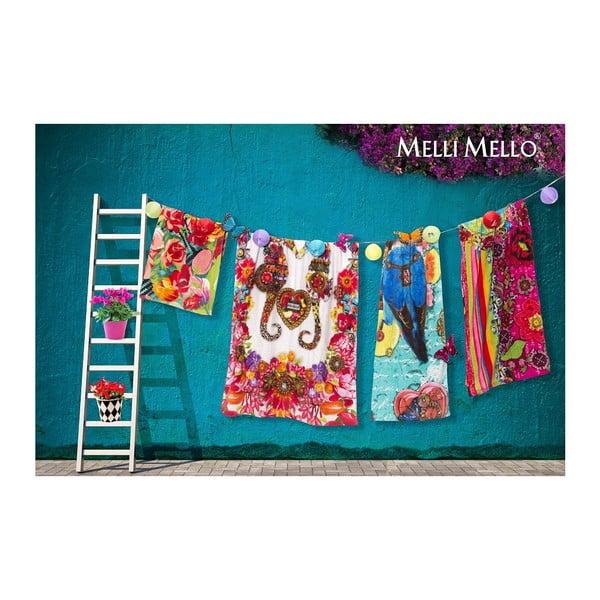 Ręcznik kąpielowy Melli Mello Zaira, 100x180cm