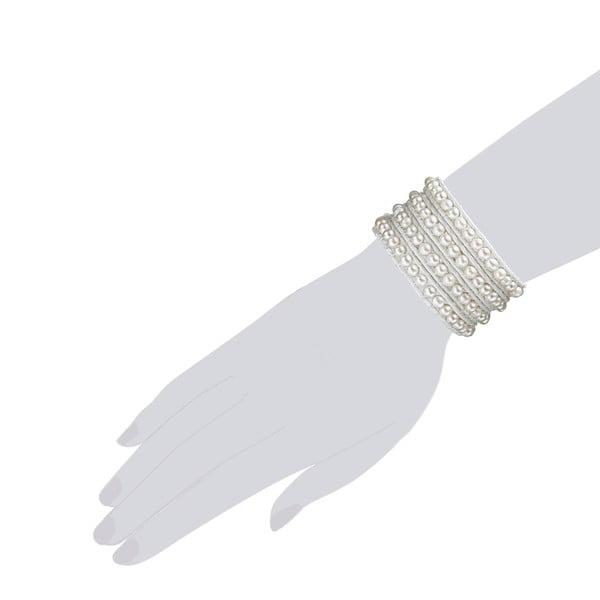 Bransoletka Evian, biała