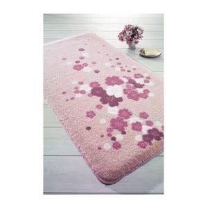 Różowy dywanik łazienkowy Confetti Bathmats Spray, 100x160 cm