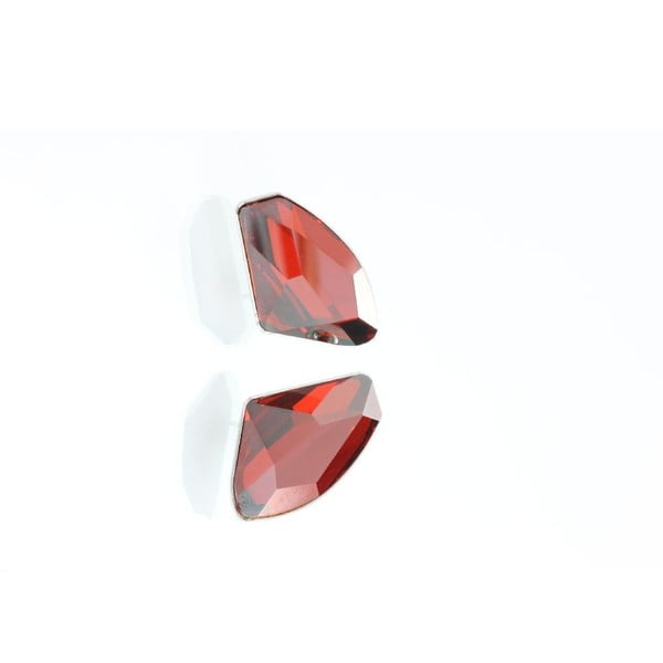Kolczyki Yasmine Crystals Red