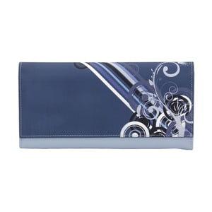 Niebieska zwijana szkatułka Friedrich Lederwaren Diagona