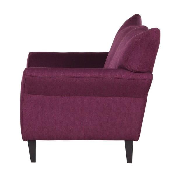Fioletowa sofa dwuosobowa Wintech Carmen Portland