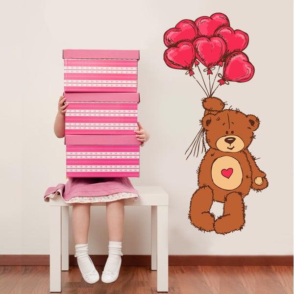 Naklejka na ścianę Teddy, 50x70 cm
