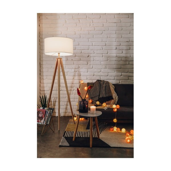 Turkusowa girlanda świetlna z żarówkami LED Luuka, 30 lampek