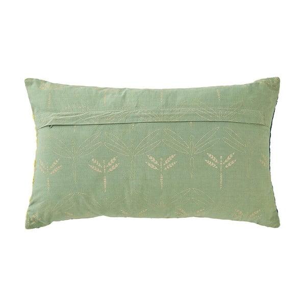 Poduszka z wypełnieniem Elmwood Green, 30x50 cm