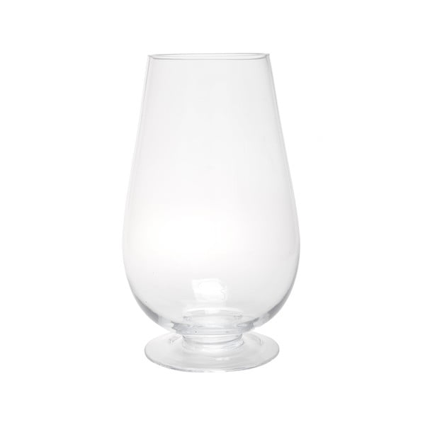 Szklany lampion Hurricane Egg, 38 cm