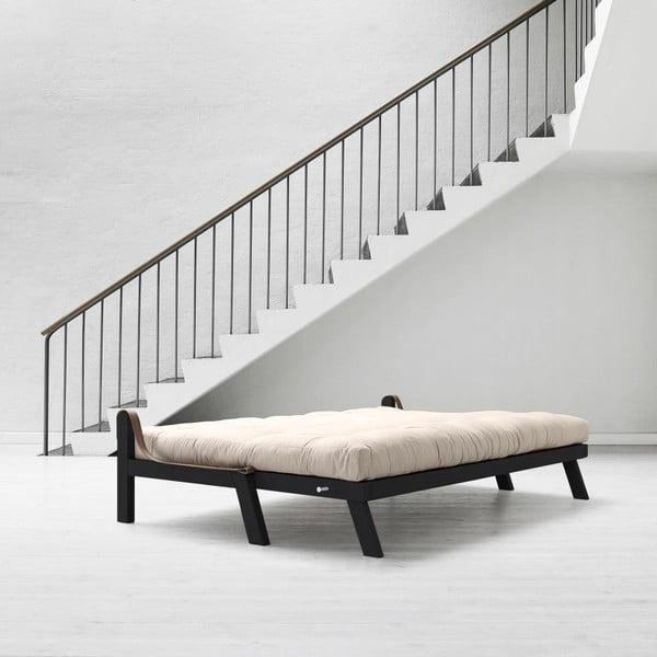 Sofa rozkładana Karup Poetry Black/Vision/Gris