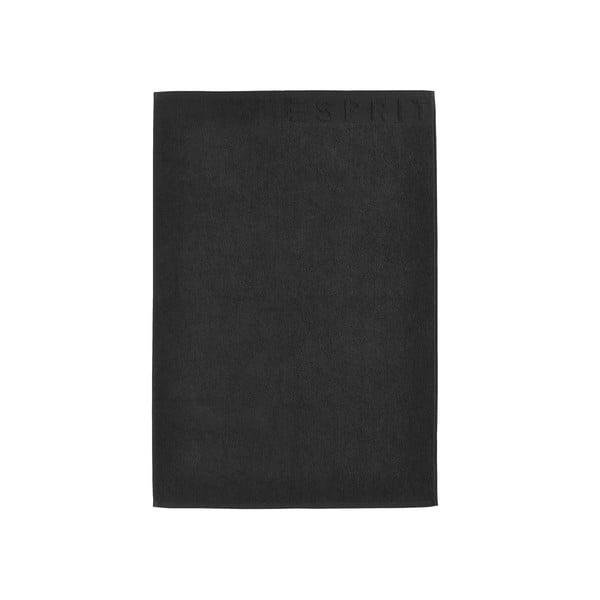 Dywanik łazienkowy Esprit Solid 60x90 cm, czarny