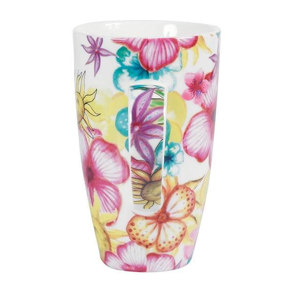 Zestaw 2 porcelanowych kubków Blooming, 600 ml
