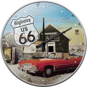 Zegar Highway 66, 31 cm