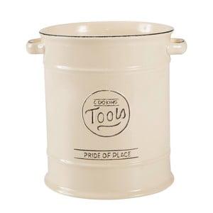 Kremowy pojemnik porcelanowy na akcesoria kuchenne T&G Woodware Pride of Place