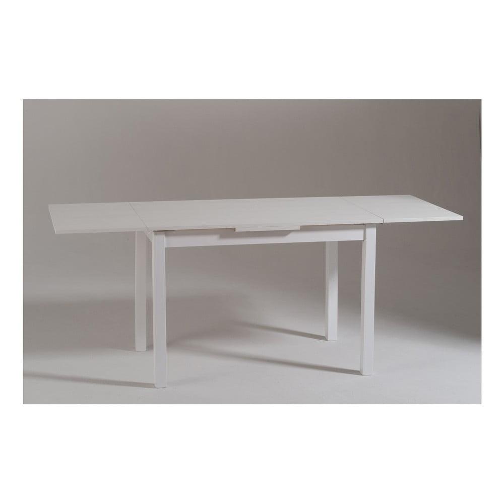 Modernistyczne Biały drewniany stół rozkładany Castagnetti Wyatt, 110 cm   Bonami GQ33