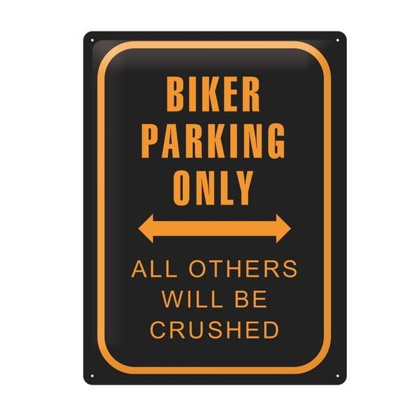 Tablica Biker Parking, 30x40 cm