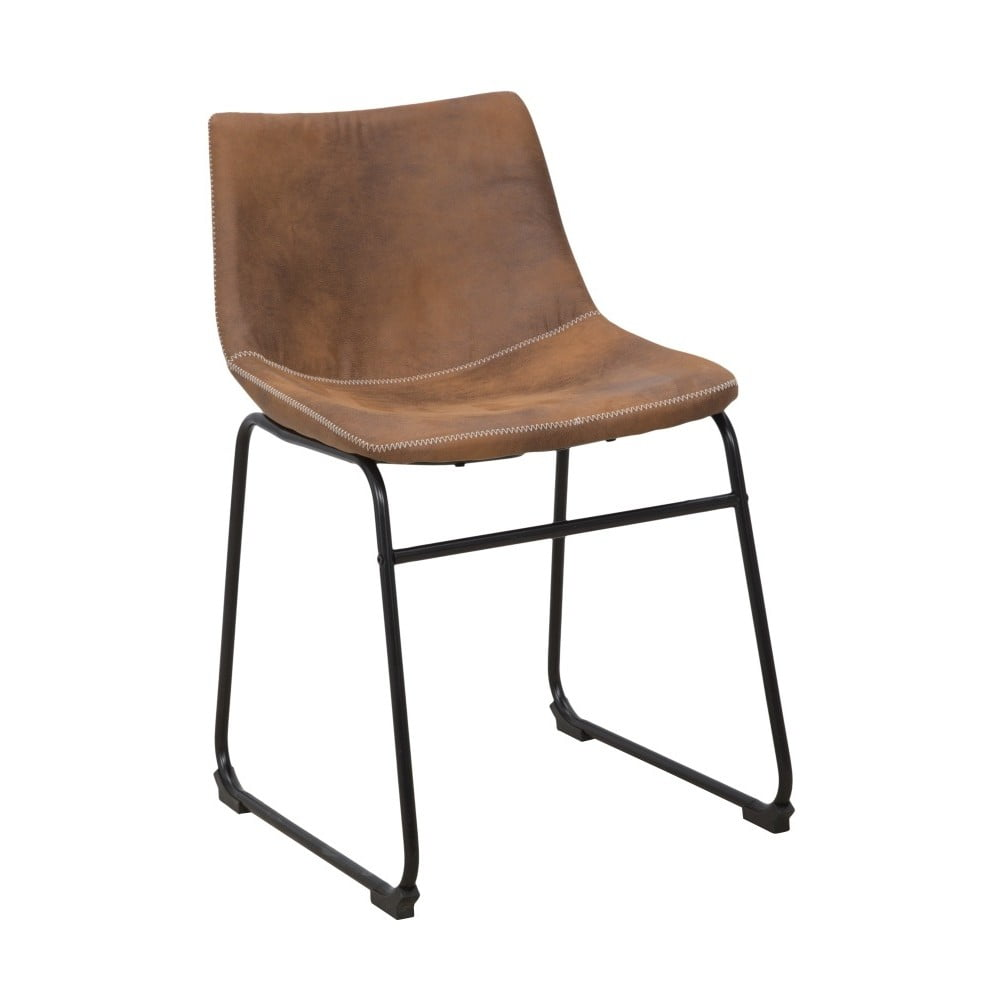 Brązowe krzesło Mauro Ferretti Metropolitan