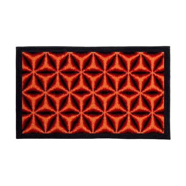 Dywanik łazienkowy Kolor My World XIV 60x100 cm, pomarańczowy