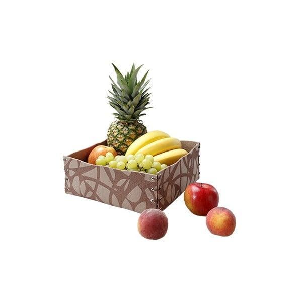 Filcowe pudełko, 25x10 cm, różowe
