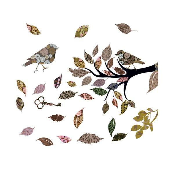 Naklejka na okno Eurographics Jesień