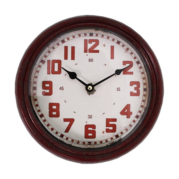 Zegar Pendule, czerwony