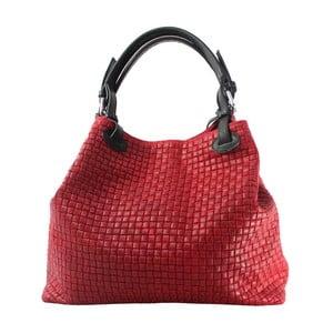 Czerwona torebka skórzana Tessa