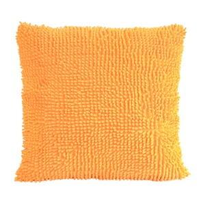 Kosmata poduszka, pomarańczowa
