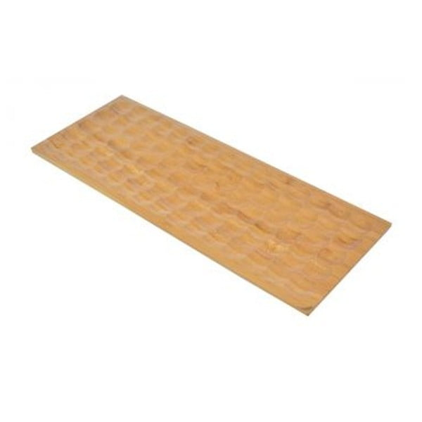 Bambusowa prostokątna deska do serwowania Miel, 40x15 cm