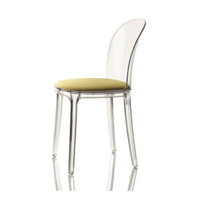 Krzesło Vanity, zielone siedzenie