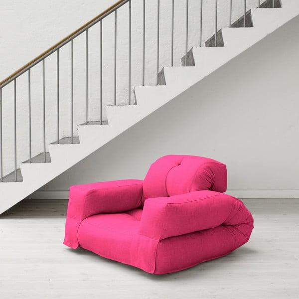 Fotel rozkładany Karup Hippo Magenta