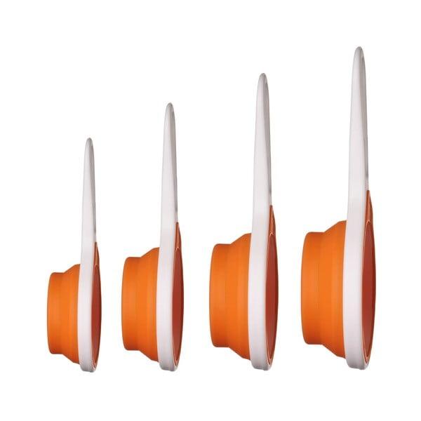 Zestaw miarek Zing Orange Premier Housewares, 4 szt.