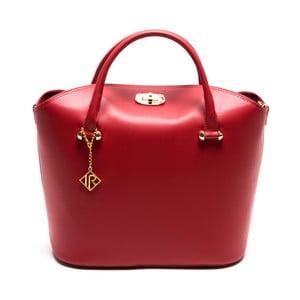 Skórzana torebka Isabella Rhea 396 Rosso