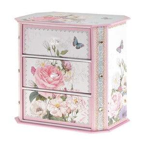 Pudełko na biżuterię Pink Roses