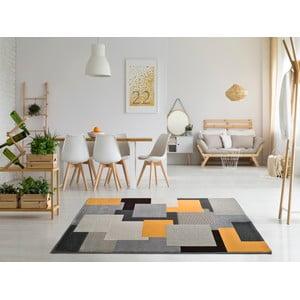 Szary dywan Universal Leo Square, 80x150 cm