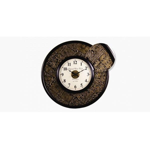 Zegar naścienny, indyjskie inspiracje