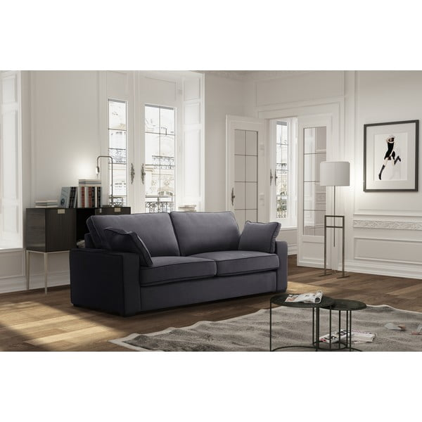 Sofa trzyosobowa Jalouse Maison Serena, stalowa