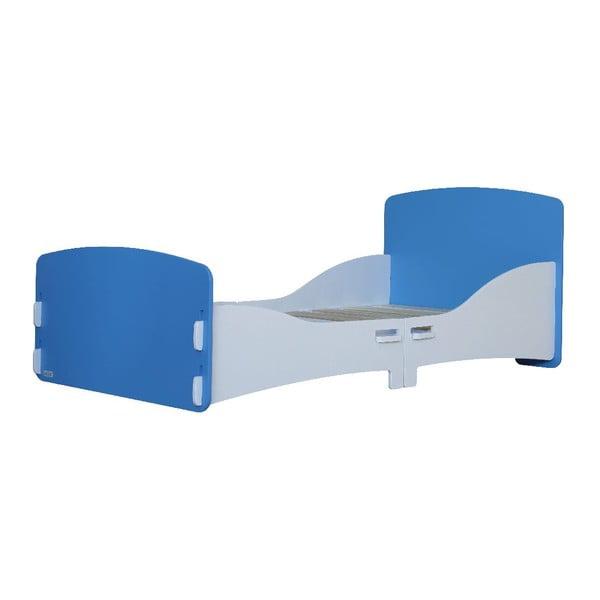 Dziecięce łóżko Blue Junior, 147x80x60 cm