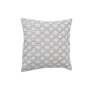 Poduszka Groovy White, 50x50 cm