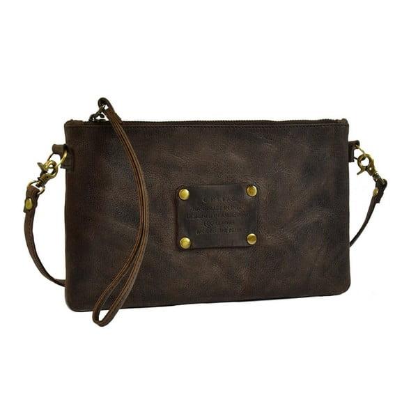 Ciemnobrązowa   torebka skórzana O My Bag The Betsy