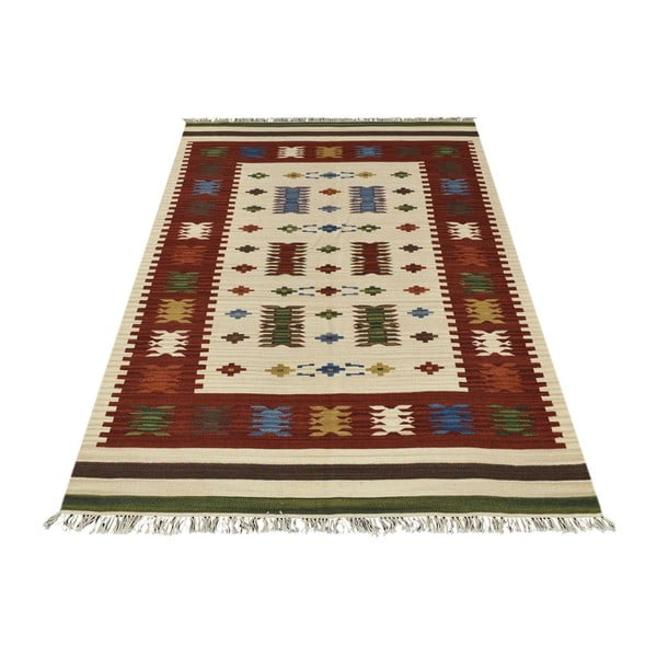 Dywan tkany ręcznie Kilim Aladin, 95x155cm