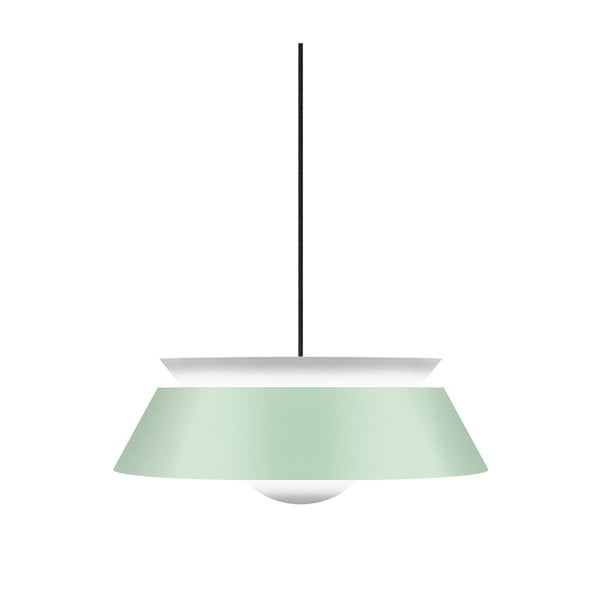 Jasnozielona lampa wisząca VITA Copenhagen Cuna, Ø38cm