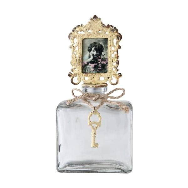 Dekoracyjna butelka z ramką na zdjęcie Vintage