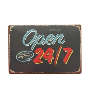 Tablica Open 24, 20x30 cm