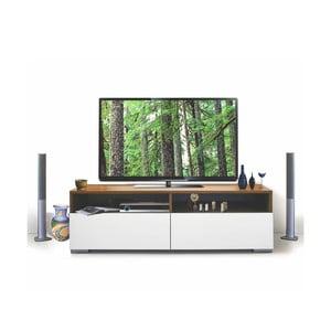 Stolik telewizyjny Deco, biały/samba