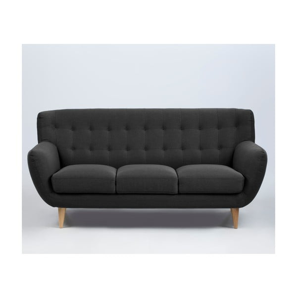 Sofa Oswald, ciemnoszara